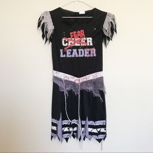Girls Fear Leader Costume